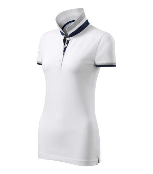 Polo Shirt Ladies Malfinipremium Collar Up - White / XL