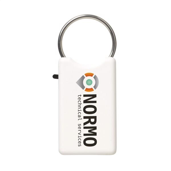 Safe key ring - White
