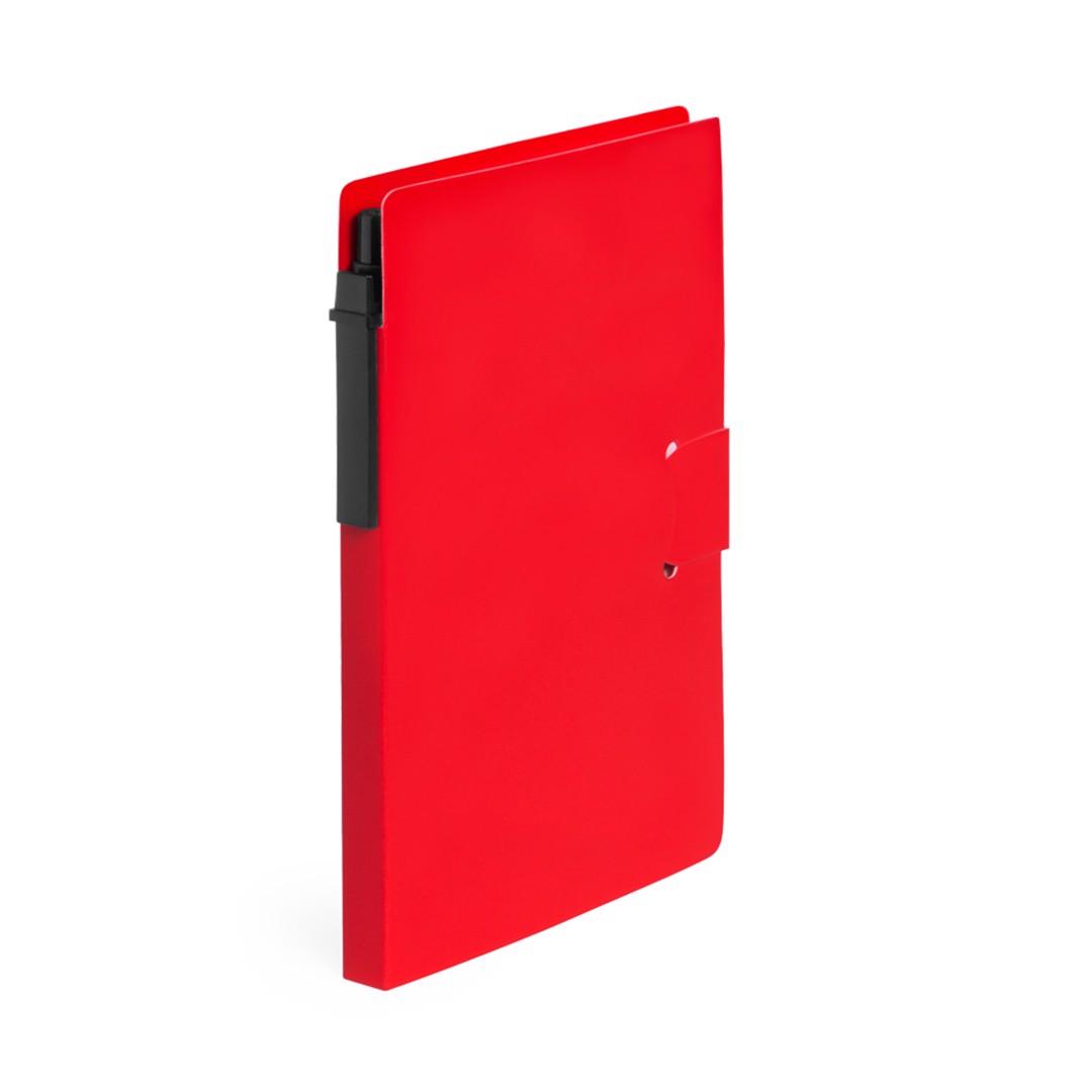 Bloc Notas Prent - Rojo
