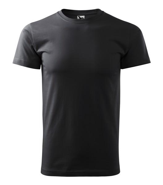 Tričko pánské Malfini Basic - Ebony Gray / M