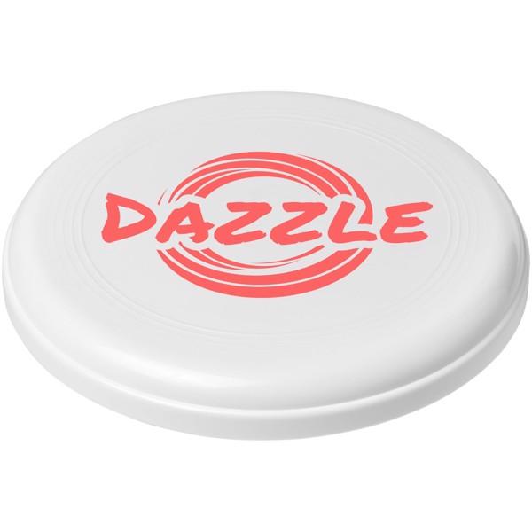 Cruz medium plastic frisbee - White