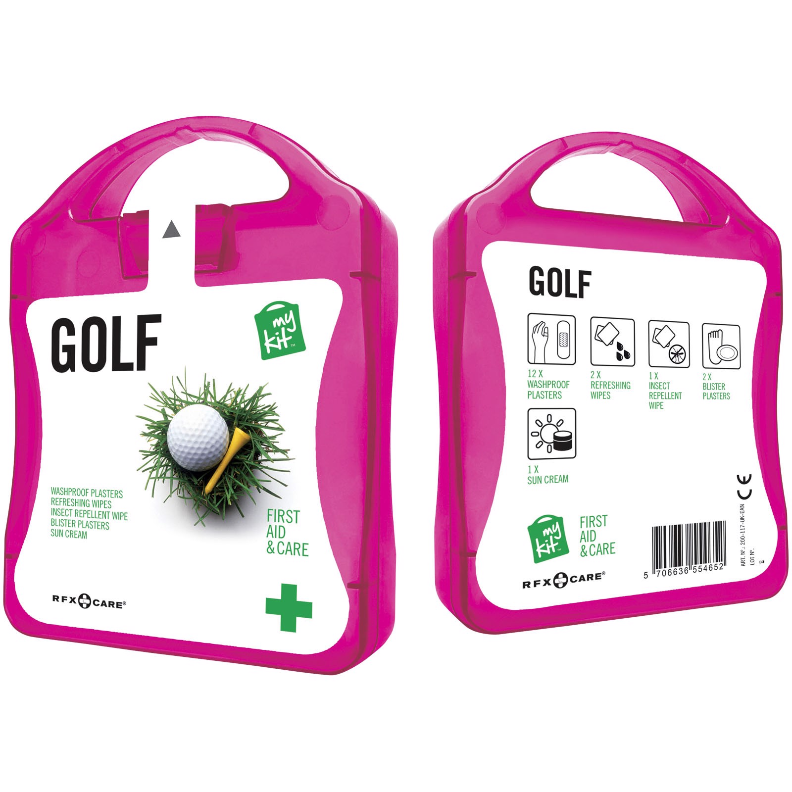 MyKit Golf First Aid - Magenta