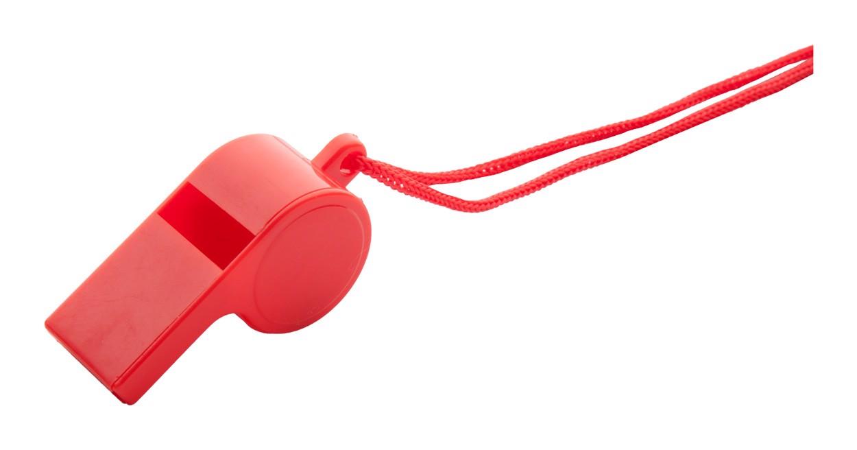 Píšťalka Claxo - Červená