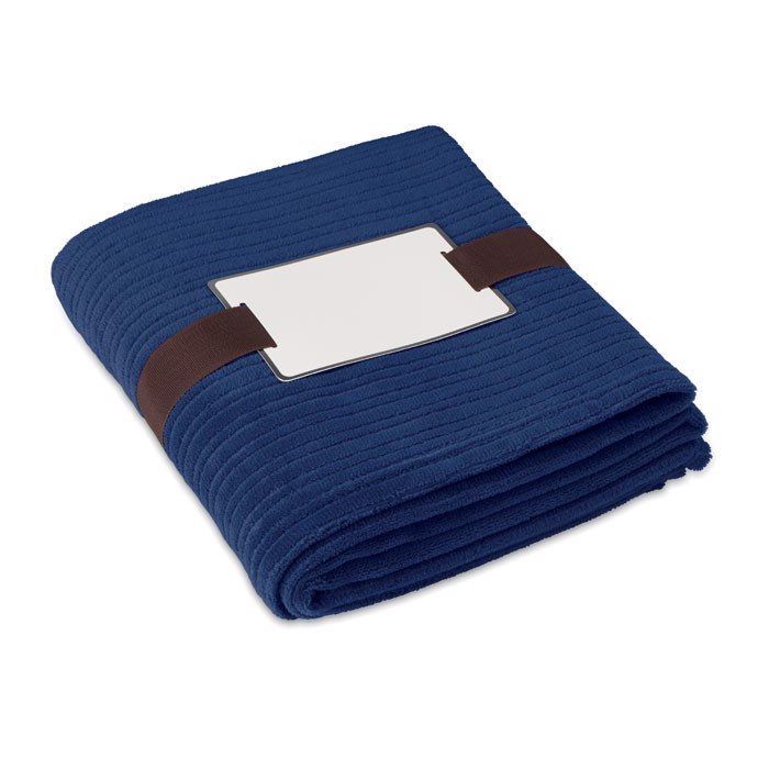 Fleece blanket.240 gr/m2 Cap Code - Blue