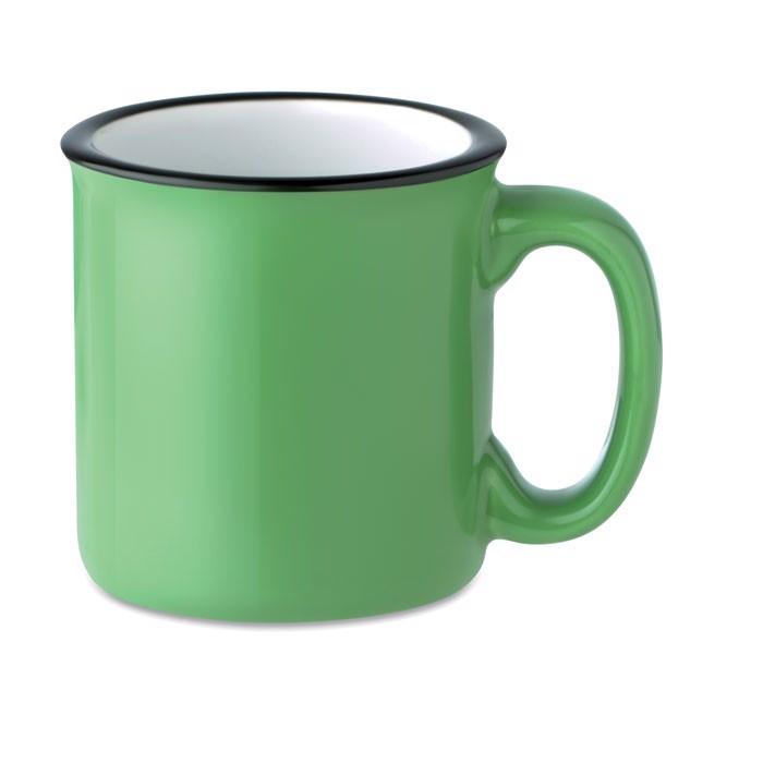 Ceramic vintage mug 240 ml Tweenies - Green