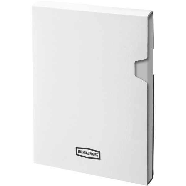 Classic A5 hard cover notebook - Silver