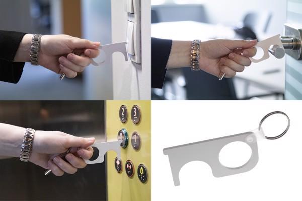 Hygiene Key NoTouch - White