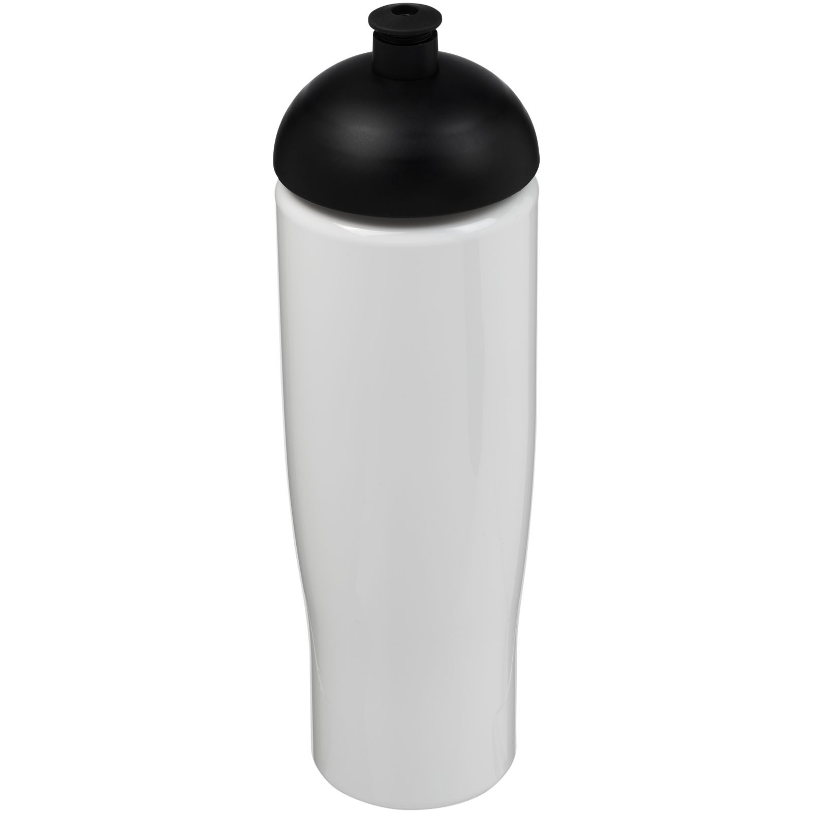 H2O Tempo® 700 ml dome lid sport bottle - White / Solid black