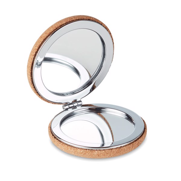 Pocket mirror with cork cover Guapa Cork