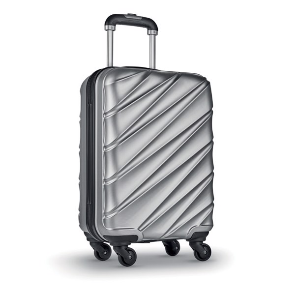 PET Hard Shell Trolley Dubai - Matt Silver