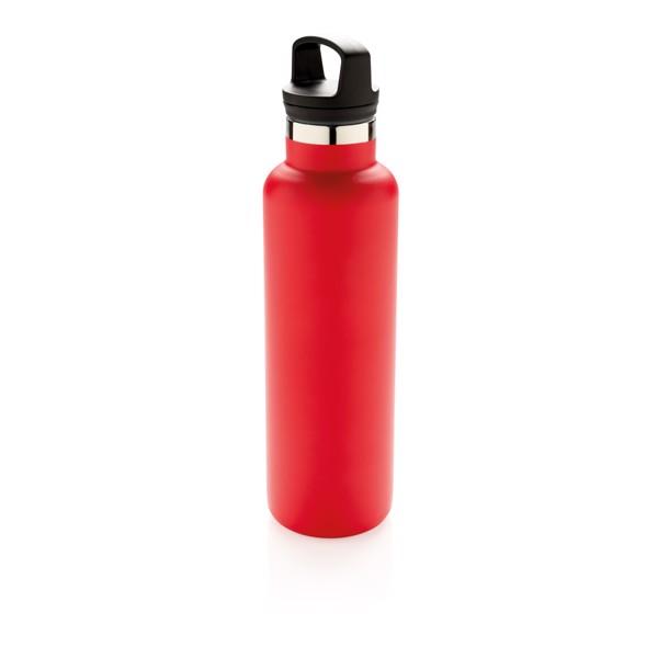 Nepropustná termo láhev se standardním hrdlem - Červená