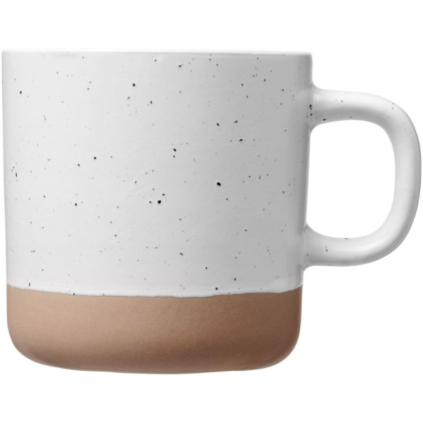 Pascal 360 ml ceramic mug - White