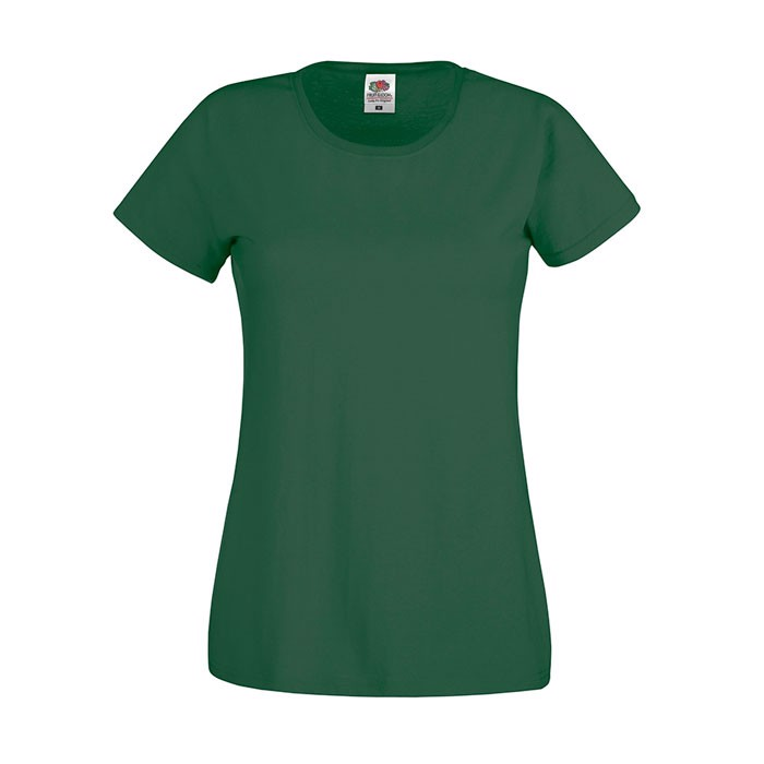 Lady-Fit T-shirt 145 g/m² Lady-Fit Original Tee 61-420-0 - Bottle Green / XS