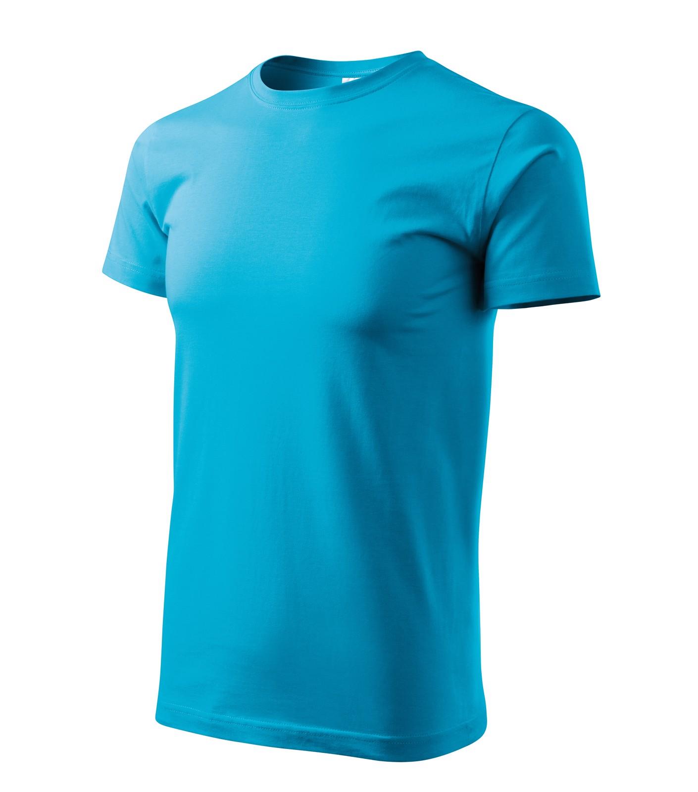 T-shirt men's Malfini Basic - Blue Atoll / S