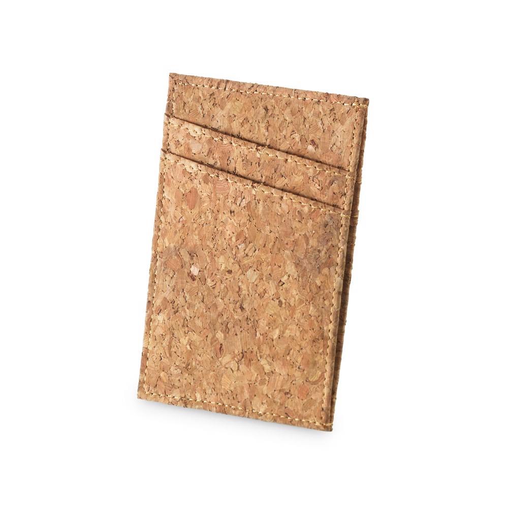DANIEL. Cork card holder