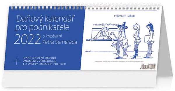 Týdenní kalendář Daňový pro podnikatele 2022