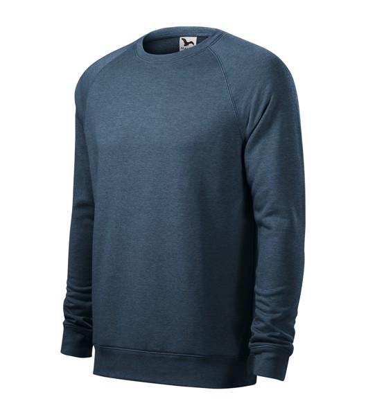 Sweatshirt Gents Malfini Merger - Dark Denim Melange / 2XL