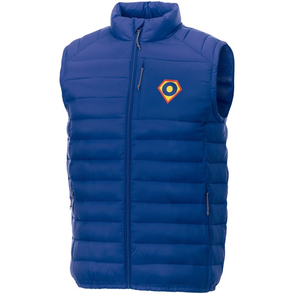 Pallas men's insulated bodywarmer - Blue / 3XL