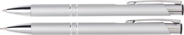 Stifte-Set 'Washington' aus Aluminium - Silver