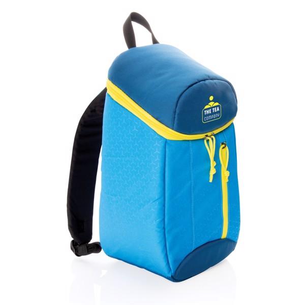 Cestovní chladící batoh 10L - Modrá / Žlutá