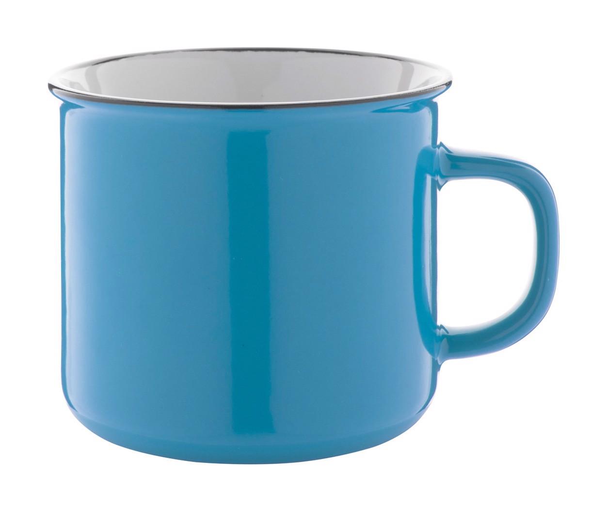 Vintage Mug Woodstock - Light Blue