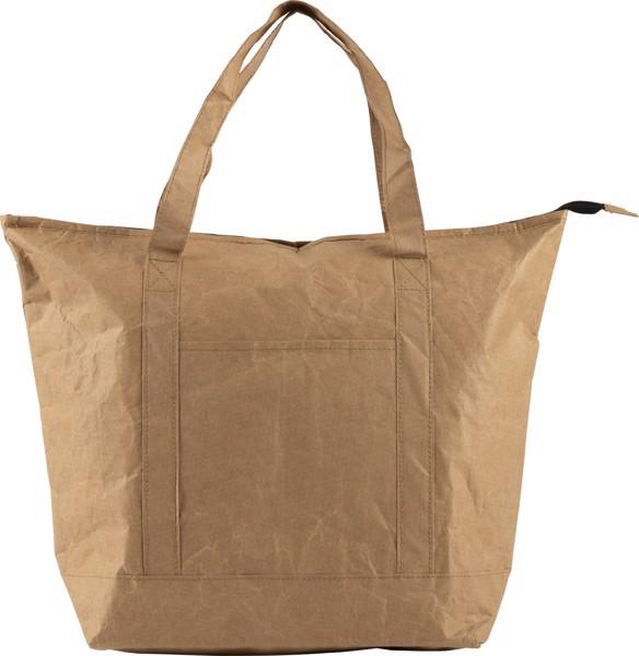 Laminated paper (80 gr/m²) cooler shopping bag