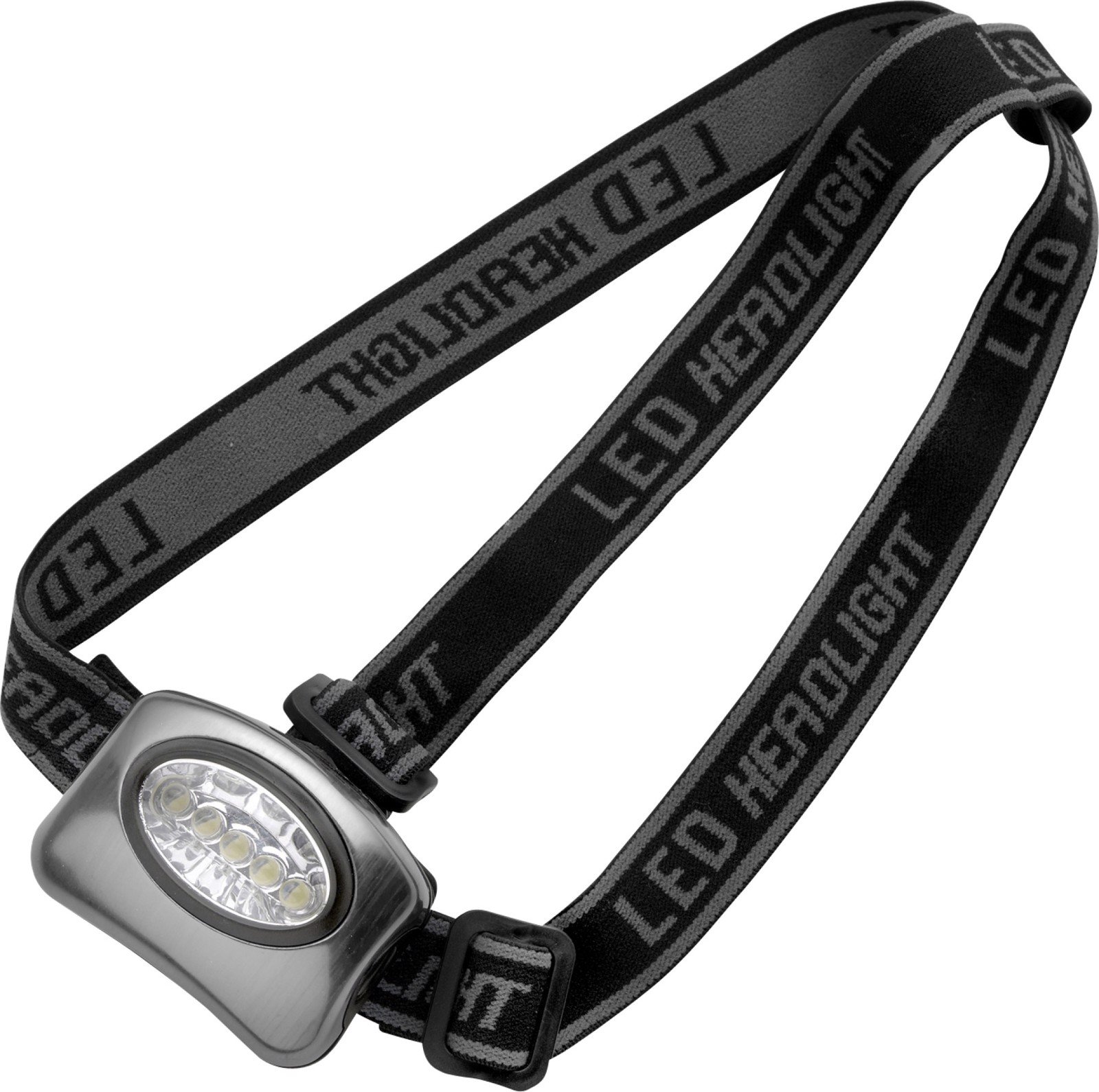 Aluminium head torch - Silver