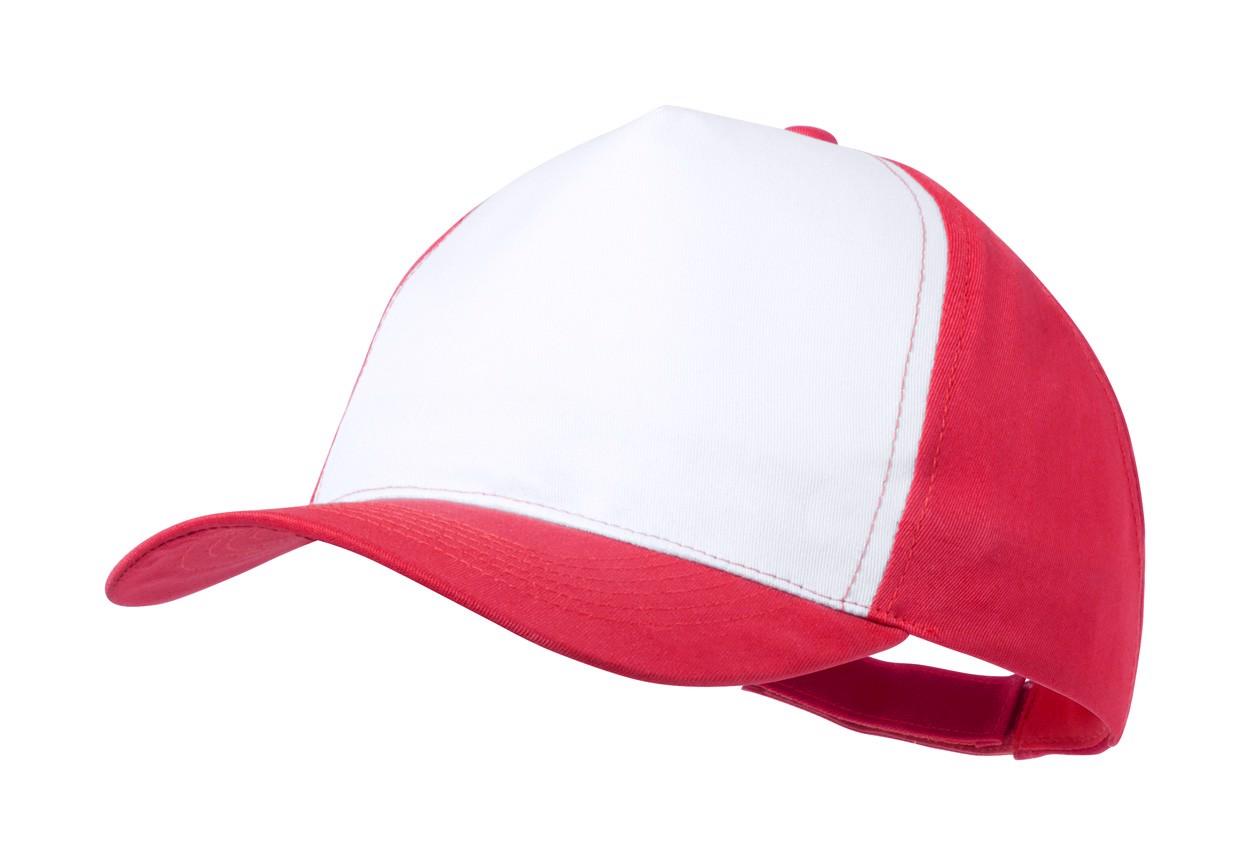 Baseballová Čepice Sodel - Červená