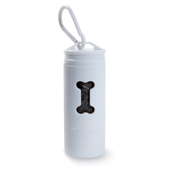 LED torch with pet waste bag Tedy Light