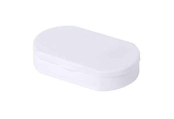 Antibakteriální Box Na Pilulky Hempix - Bílá