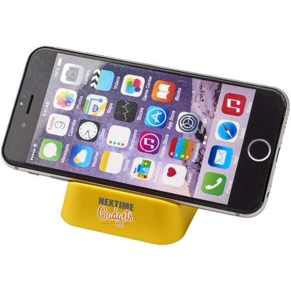 Crib phone stand - Yellow