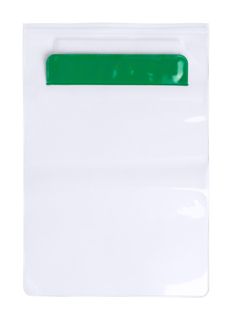 Husă Tabletă Kirot - Verde / Transparent