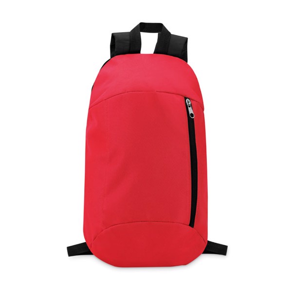 Backpack with front pocket Tirana - Red