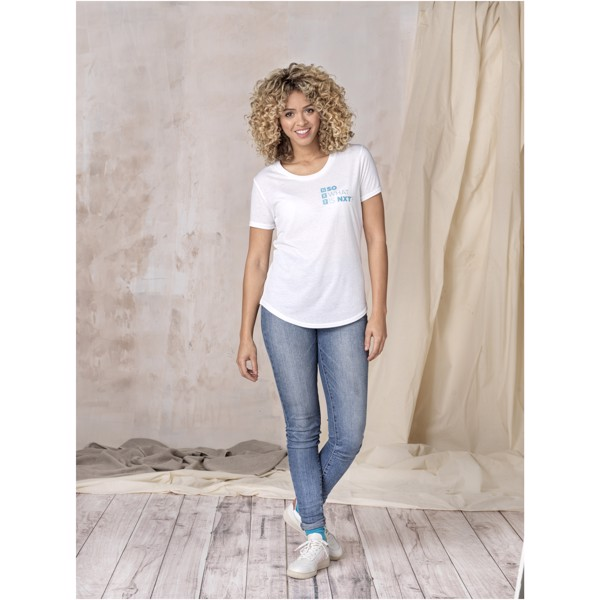 Jade short sleeve women's GRS recycled t-shirt - Storm Grey / XL