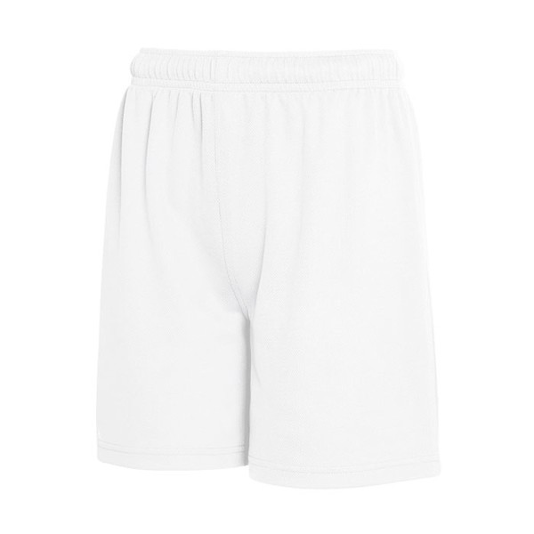 Kids Pants Sports Kid Performance Short 64-007-0 - White / XXL