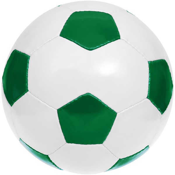 Curve size 5 football - Green / White