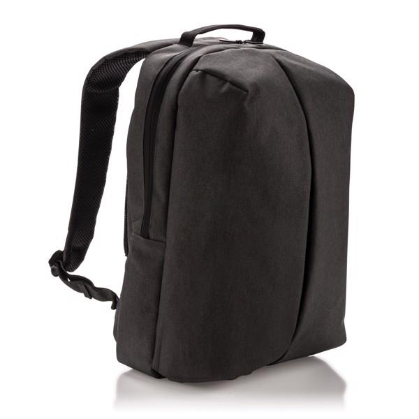 Irodai és szabadidős hátizsák - Fekete