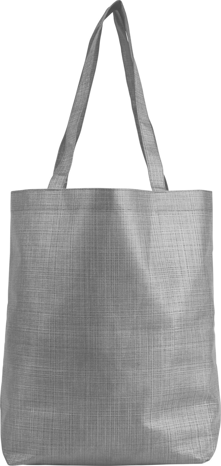 Nonwoven (70 gr/m²) shopping bag - Grey