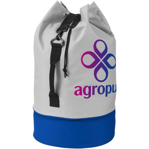 Dipp sailor duffel bag - Grey / Royal Blue