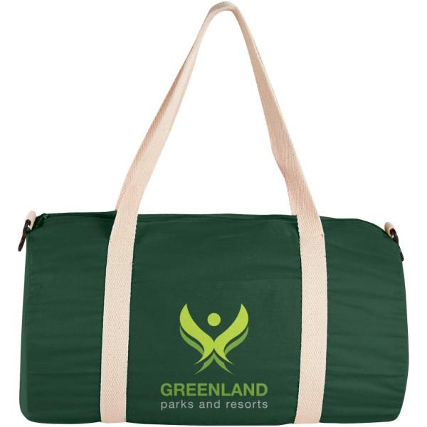 Bavlněná taška Duffel - Lesní zelená