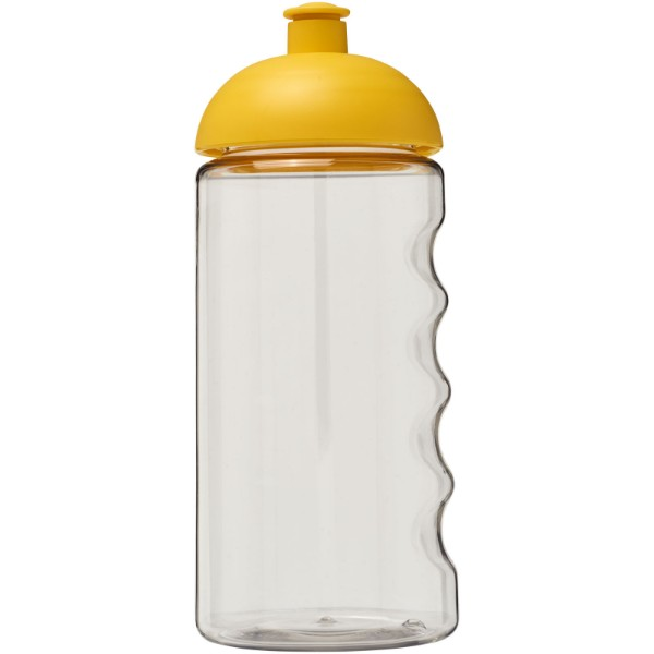 Láhev s kupolovitým víčkem H2O Bop® 500 ml - Průhledná / Žlutá