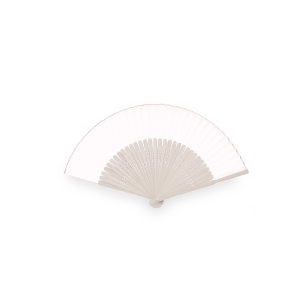 Hand Fan Kertex - White