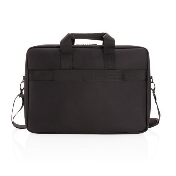 Swiss Peak deluxe vegan leather laptop bag PVC free