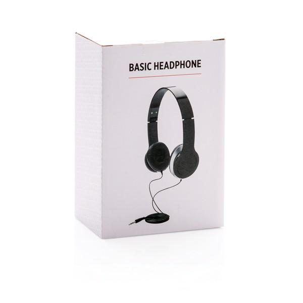 Basic fejhallgató - Fekete