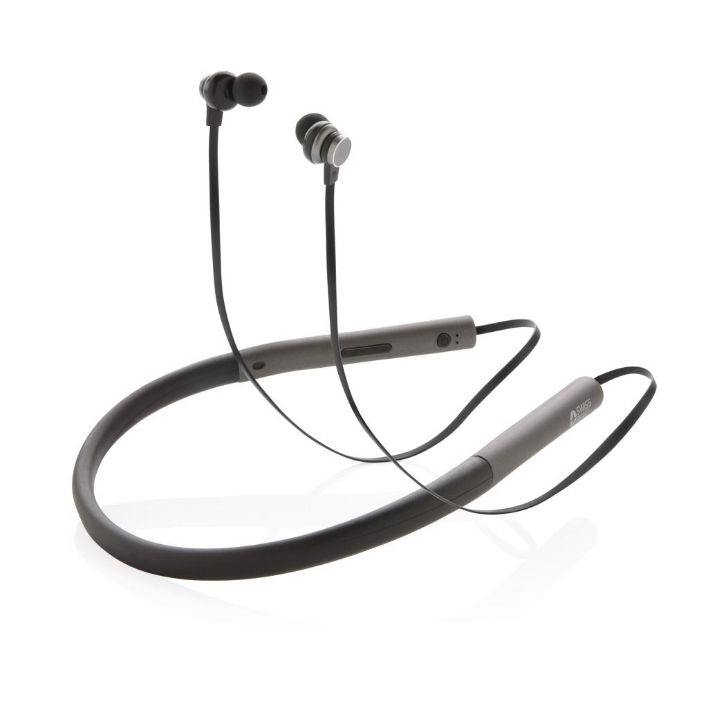 Basová sluchátka do uší Swiss Peak