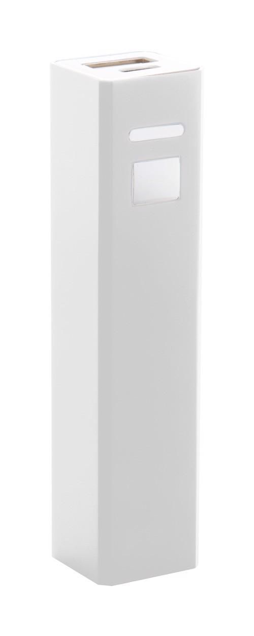 Usb Power Bank Thazer - White / White