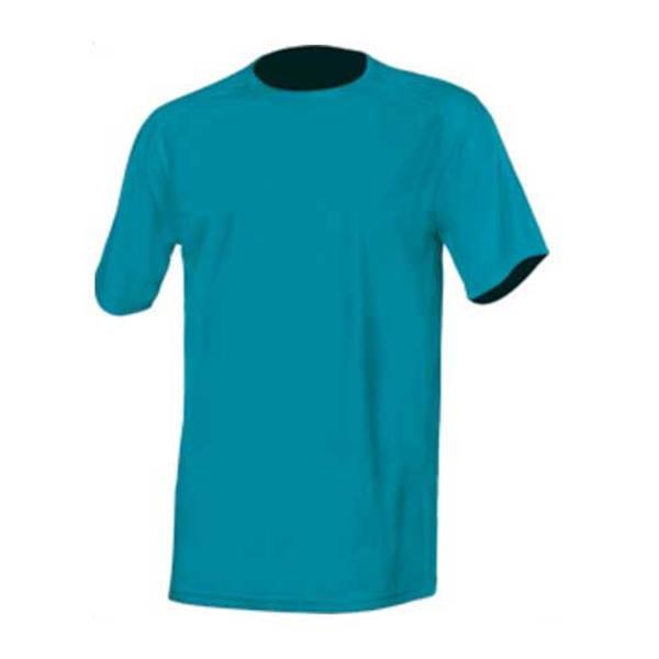 T-Shirt Técnica Sport, Quick Dry 150G - 100% Poliéster - Azul Turquesa / S