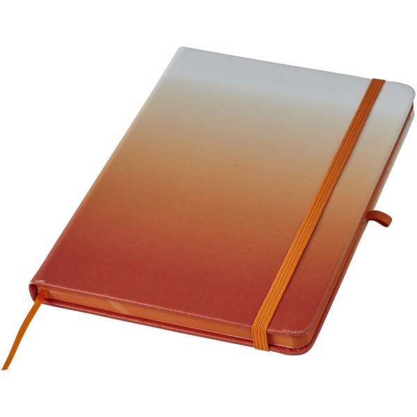 Gradient hard cover notebook - Orange
