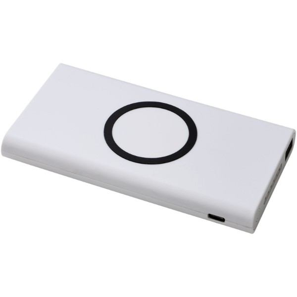 Parallax 4000 mAh wireless power bank - White