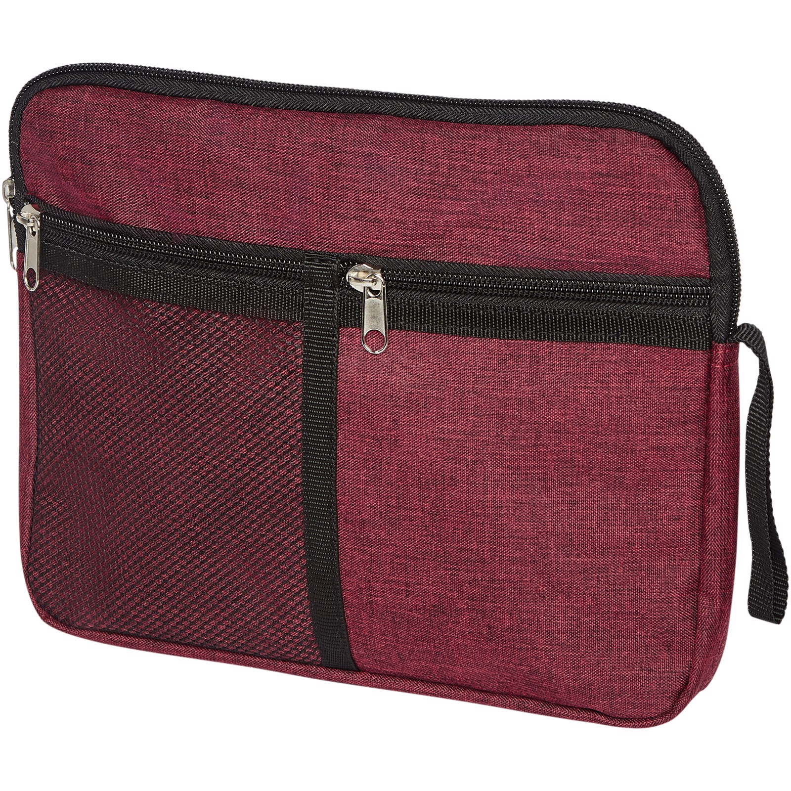 Hoss toiletry pouch - Heather dark red